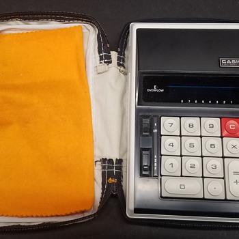 1972 Casio-8U Electronic Calculator  - Office