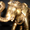Pair of Brass Elephants