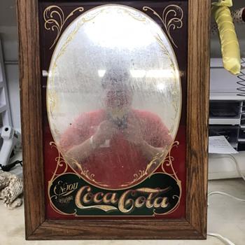 Coke mirror - Coca-Cola