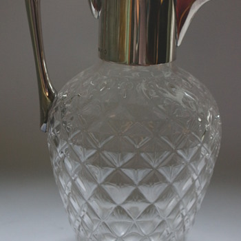 Dresser Claret Jug - Art Glass