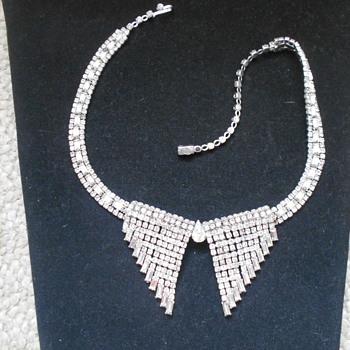 Kramer of New York rhinestone necklace