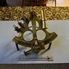 9 Inch Polished Brass Drum Sextant