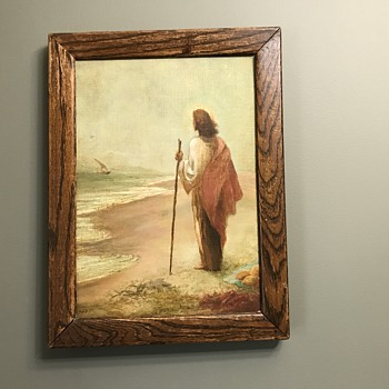 Christ post-resurrection painting - Fine Art