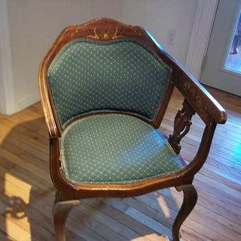 arm chair found in basement - Furniture