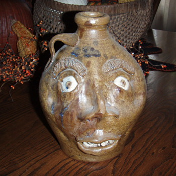 Face Jug - Pottery