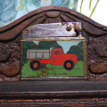 Vintage Local Advertising Lighter  - Advertising