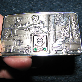 Info on Ohio Bell belt buckle - Accessories