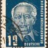 """1950 - E. Germany """"Wilhelm Pieck"""" Postage Stamps"""