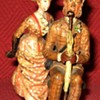 Antique Moritz Spitz  Austrian Cold Painted Bronze Couple (Signed)