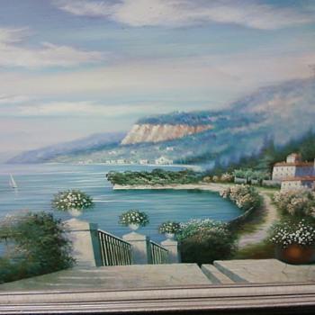 Unknown Landscape Painting - Fine Art