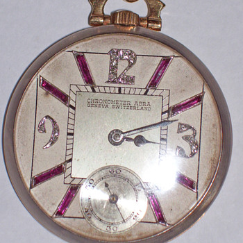 Vintage Abra pocket watch  - Pocket Watches