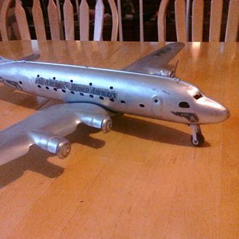 Marx Pan Am airplane - Toys