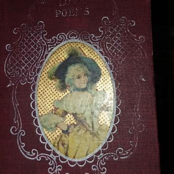 Vintage book love poems  - Books