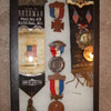Civil War Andersonville survivor badges and medals grouping