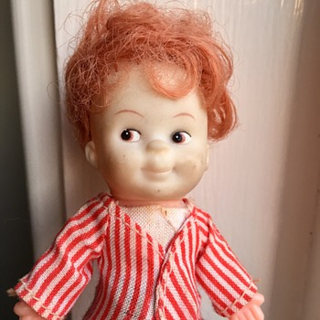 Cute and mischievous little boy doll - Dolls