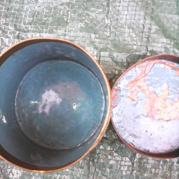 My cloisonne canister - Asian
