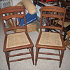 Chestnut East lake side chairs