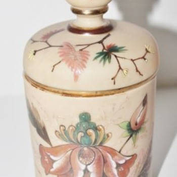 OOOPS! Poschinger pre 1900 wrong there! Possibly Tischer... - Art Glass