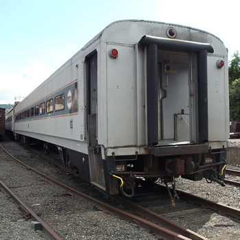 Ex Erie Lackawanna Commuter Car - Railroadiana