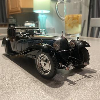 Franklin Mint 1930 Bugatti Royale Coupe Napoleon - Model Cars