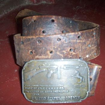 Colt belt buckle - Accessories