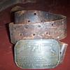 Colt belt buckle