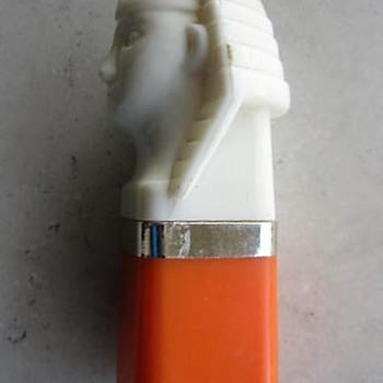 Novelty Pharaoh lipstick, circa 1970's-80's - Accessories