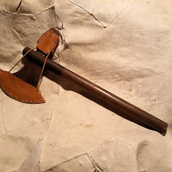 My Ren Faire Battle Axe From The Ancient 1980s - Tools and Hardware