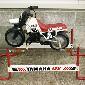 1980s Yamaha mini-cycle spring toy rocking horse. - Motorcycles