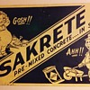 SAKRETE masonry mix sign