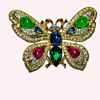 Trifari Jewels of India Butterfly - From My Personal Collection