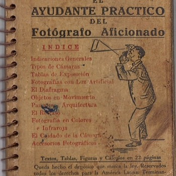 """""""The practical helper of the amateur photographer"""" (1946) - Books"""
