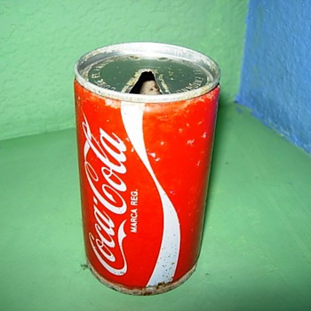 Coca-Cola Ring Top Can - Coca-Cola