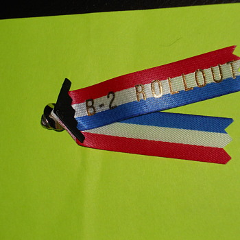 B-2 Rollout pin - Military and Wartime