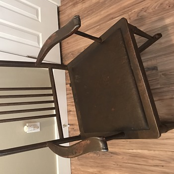 Veterans Home Metal Rocking Chair - Furniture