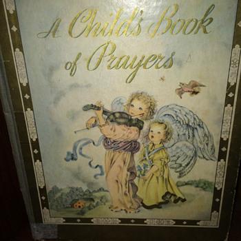 Vintage Children's Prayer Book