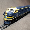 Athearn HO Gauge EMD F7A and F7B Locomotives Santa Fe