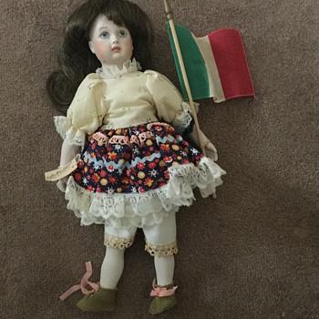 Marked Porcelain Doll