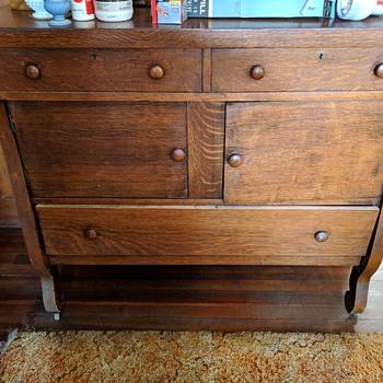 Antique or Vintage? Dining room Server or Bedroom Chest? - Furniture