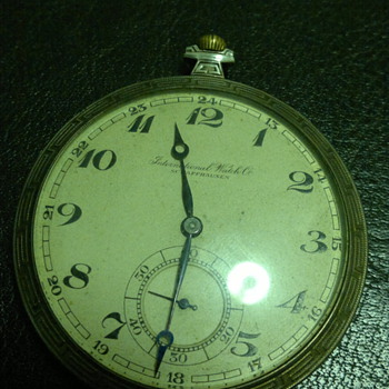 International Watch Co. Schaffhausen pocket watch information  - Pocket Watches