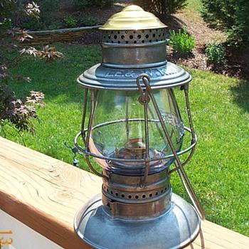 Lake Erie & Western Railroad Lantern