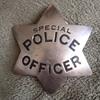 Antique Ed Jones Special Police Officer Badge Circa 1910