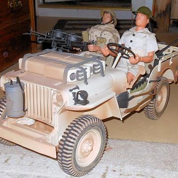 GI Joe Desert Patrol Jeep - Toys