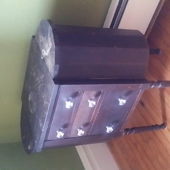 """Very old and unusual piece!  28 1/2 """" Tall x 14"""" Deep x 27"""" Wide - Furniture"""