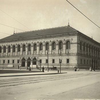 "Boston Public Library,Copley Sq""Early XX Century"" - Photographs"