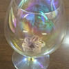 Czechoslovakia crystal antique glasses