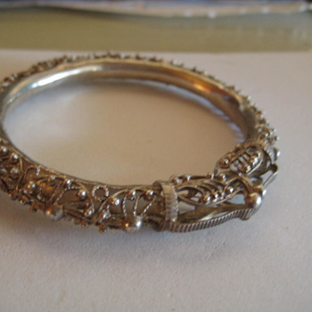 Filigree SilverDragon / Serpent Bracelet - Fine Jewelry