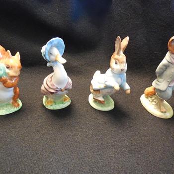 Beatrix Potter's Beswick, England Figurines - Figurines
