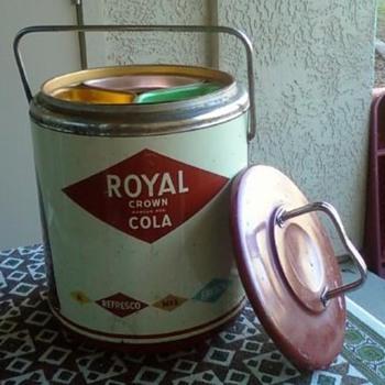 Royal Crown RC Cola Cooler  - Advertising