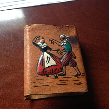 All Around Leather Embossed Matchbox Cover